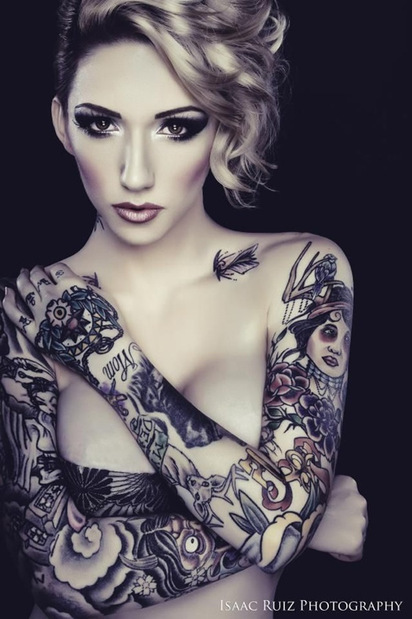 arm tattoo designs for girls (11)