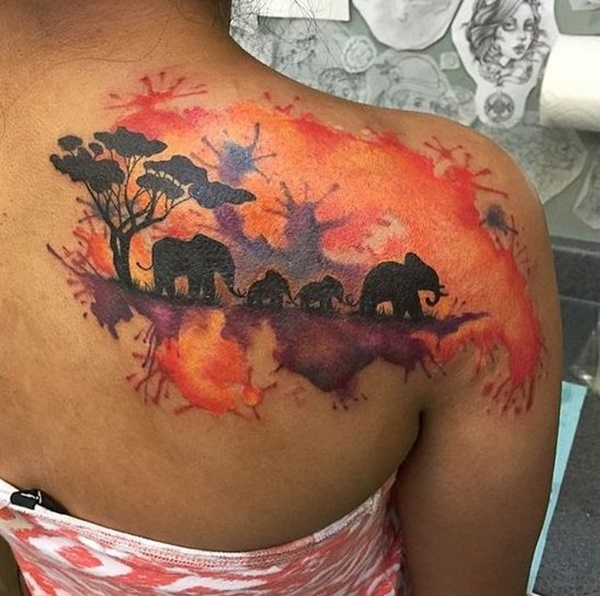 elephant tattoo designs (1)