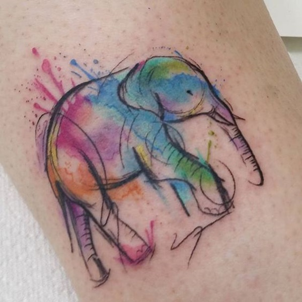 elephant tattoo designs (10)