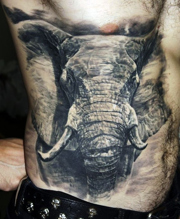 elephant tattoo designs (19)