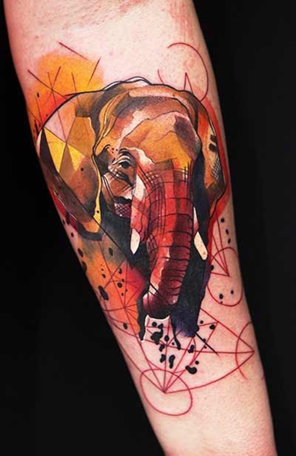 elephant tattoo designs (21)