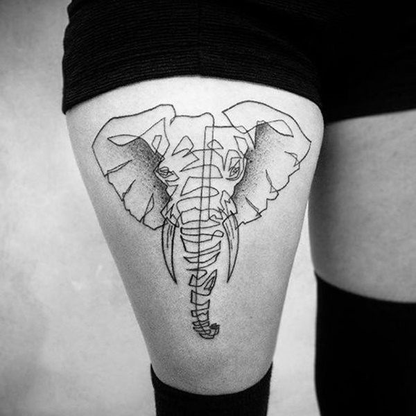 elephant tattoo designs (22)