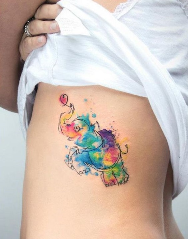 elephant tattoo designs (25)