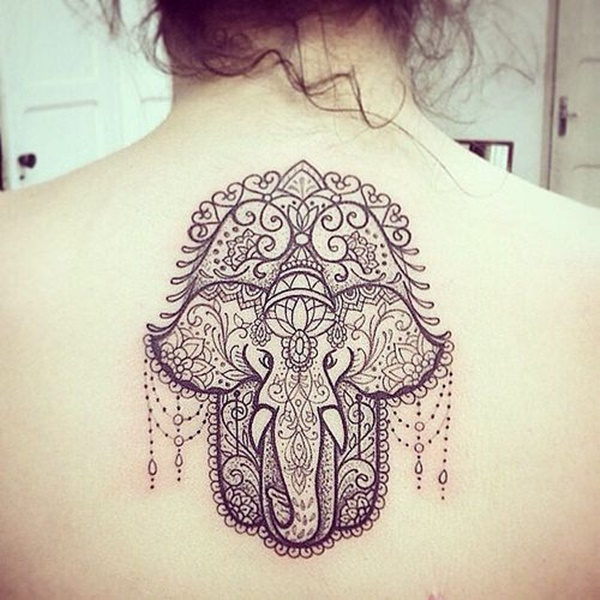 elephant tattoo designs (26)