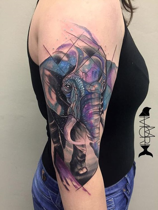 elephant tattoo designs (32)