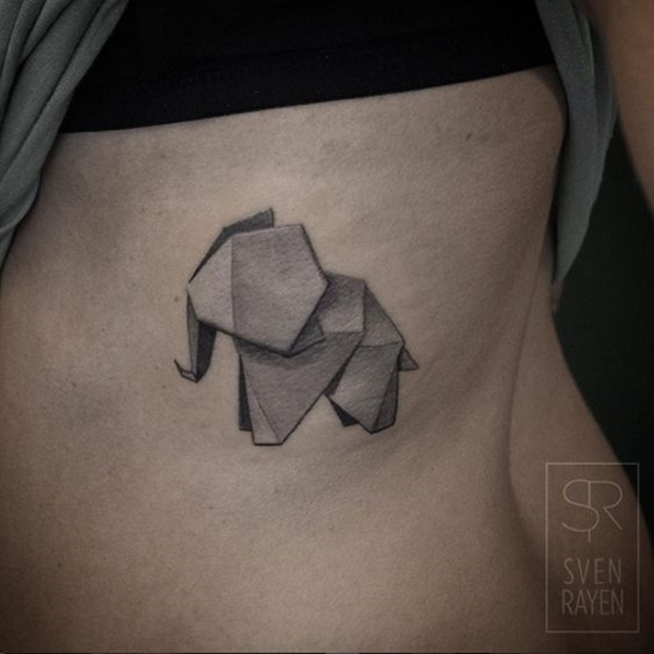 elephant tattoo designs (43)