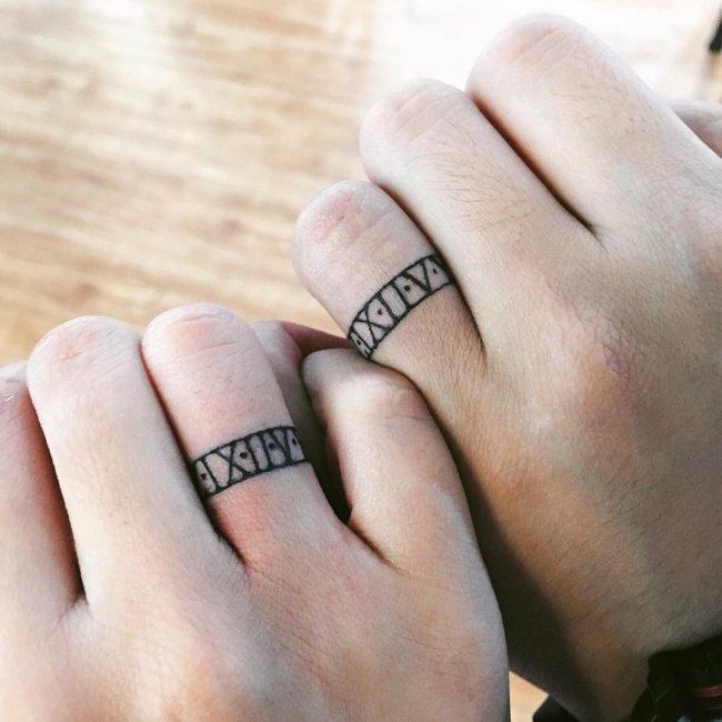 оленин фото тату в виде кольца зависит сложности технологии
