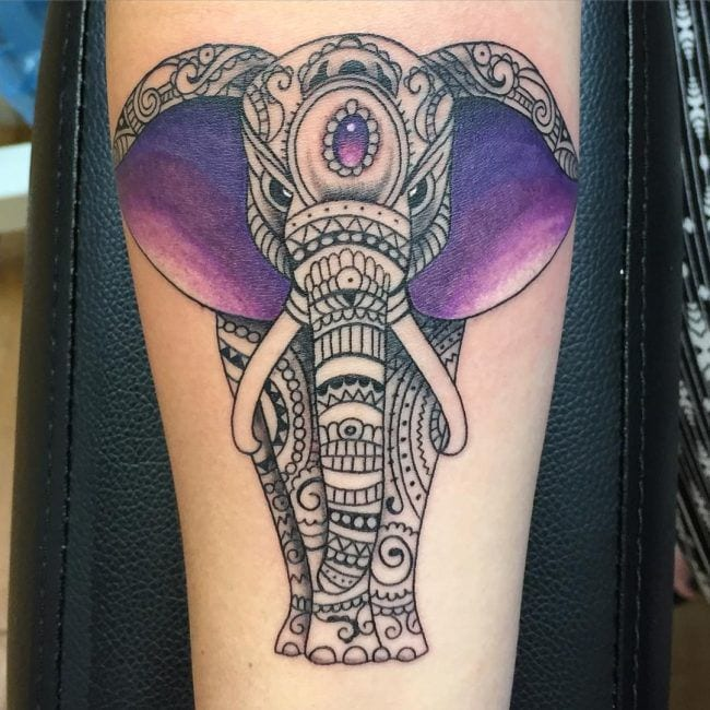 elephant-tattoos