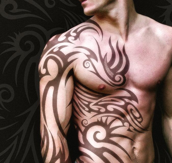 Художественная татуировка по
