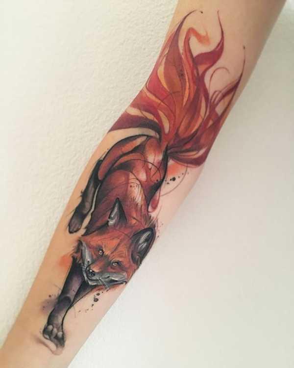 Фото татуировок с изображением медведя своей яркой