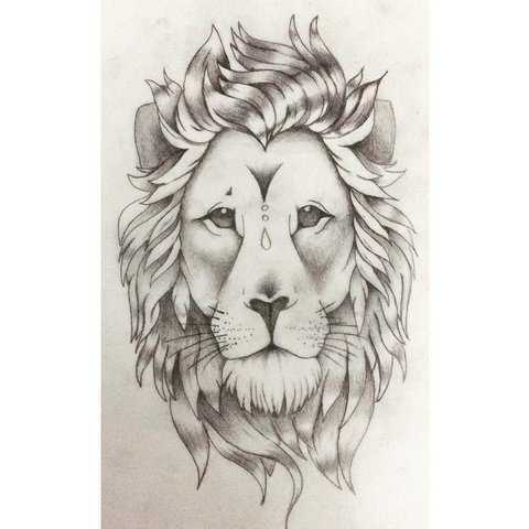 Татуировка Лев: [Значение] для Мужчин и Женщин | TattooAssist | 480x480