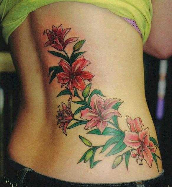 Цветы которые обозначают плодородие тату фото
